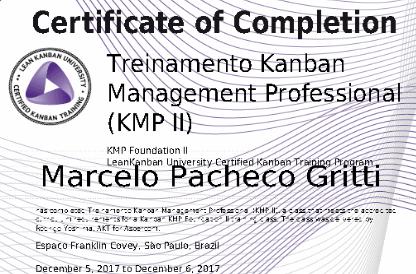 Treinamento KMP II